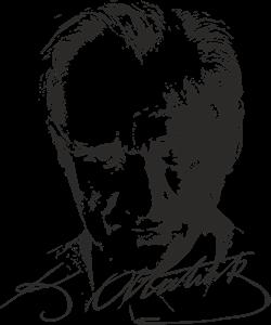 atatürk ve imzası Logo ,Logo , icon , SVG atatürk ve imzası Logo