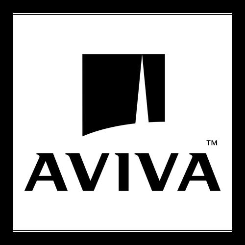 Aviva ,Logo , icon , SVG Aviva
