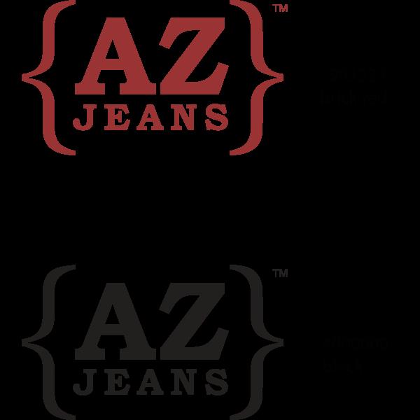 {AZ} Jeans Logo ,Logo , icon , SVG {AZ} Jeans Logo