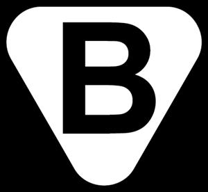 B sign of safety Logo ,Logo , icon , SVG B sign of safety Logo