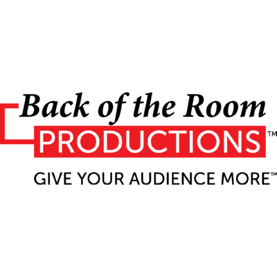 Back of the Room Productions Logo ,Logo , icon , SVG Back of the Room Productions Logo