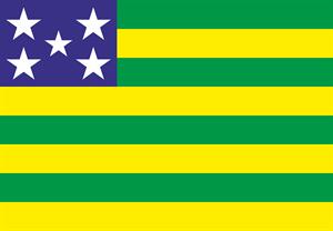 Bandeira de Goiás Logo ,Logo , icon , SVG Bandeira de Goiás Logo