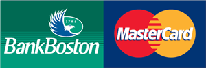 Bank Boston MasterCard Logo ,Logo , icon , SVG Bank Boston MasterCard Logo