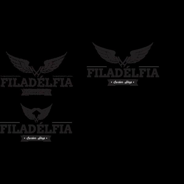 Barbearia Filadélfia Logo ,Logo , icon , SVG Barbearia Filadélfia Logo