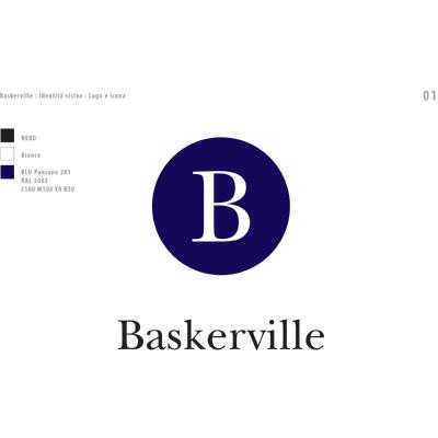 Baskerville Logo ,Logo , icon , SVG Baskerville Logo