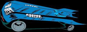 Batmobile Logo ,Logo , icon , SVG Batmobile Logo