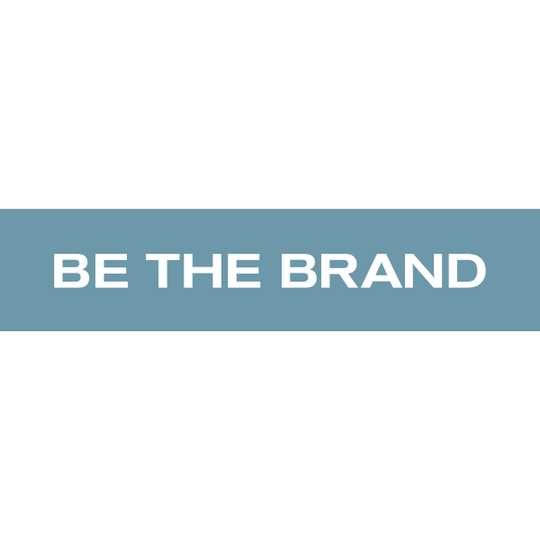 BE THE BRAND Logo ,Logo , icon , SVG BE THE BRAND Logo