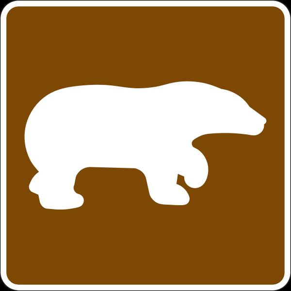 BEAR WARNING SIGN Logo ,Logo , icon , SVG BEAR WARNING SIGN Logo
