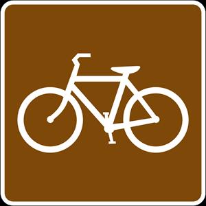 BICYCLE TRAIL SIGN Logo ,Logo , icon , SVG BICYCLE TRAIL SIGN Logo