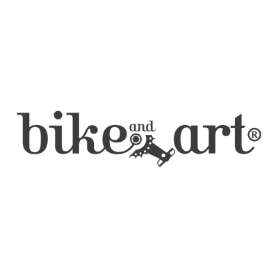 bike and art ,Logo , icon , SVG bike and art