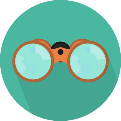binoculars ,Logo , icon , SVG binoculars
