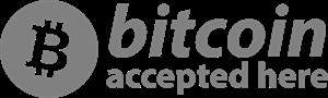 bitcoin accepted Logo ,Logo , icon , SVG bitcoin accepted Logo