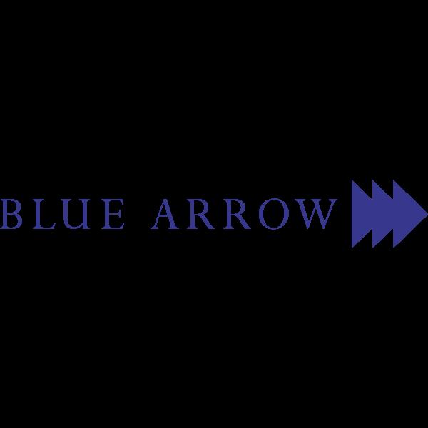 Blue Arrow logo ,Logo , icon , SVG Blue Arrow logo
