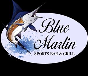 Blue Marlin Cafe Logo ,Logo , icon , SVG Blue Marlin Cafe Logo