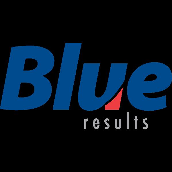 Blue Results Logo ,Logo , icon , SVG Blue Results Logo