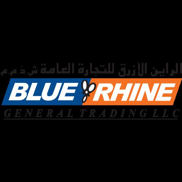 شعار الراين الازرق للتجارة العامة ش.ذ.م.م ,Logo , icon , SVG شعار الراين الازرق للتجارة العامة ش.ذ.م.م