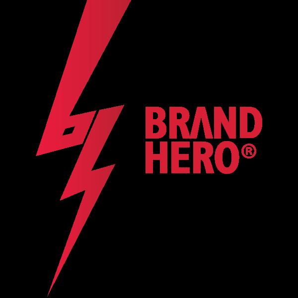 Brand Hero Logo ,Logo , icon , SVG Brand Hero Logo