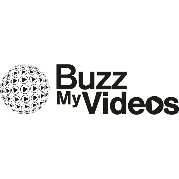 BuzzMyVideos YouTube MCN (Black and White) Logo ,Logo , icon , SVG BuzzMyVideos YouTube MCN (Black and White) Logo
