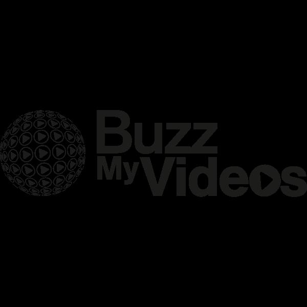 BuzzMyVideos YouTube MCN (Black and White) Logo ,Logo , icon , SVG BuzzMyVideos YouTube MCN (Black and White) Logo