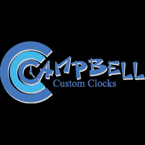 Campbell Custom Clocks Logo ,Logo , icon , SVG Campbell Custom Clocks Logo