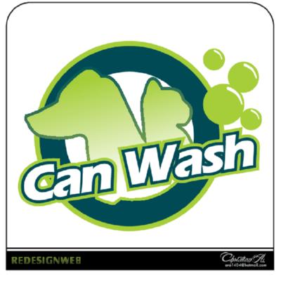 Can Wash Logo ,Logo , icon , SVG Can Wash Logo