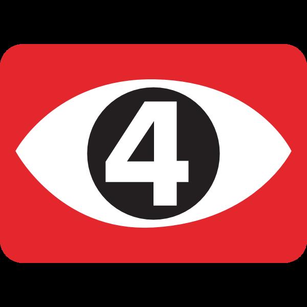Canal 4 Logo ,Logo , icon , SVG Canal 4 Logo