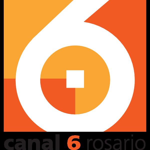 Canal 6 Rosario Logo ,Logo , icon , SVG Canal 6 Rosario Logo