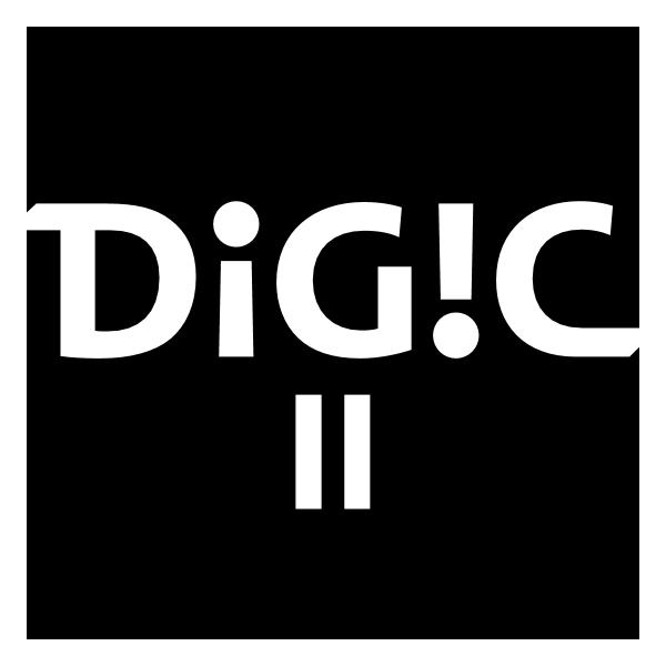 Canon DIGIC II Logo ,Logo , icon , SVG Canon DIGIC II Logo