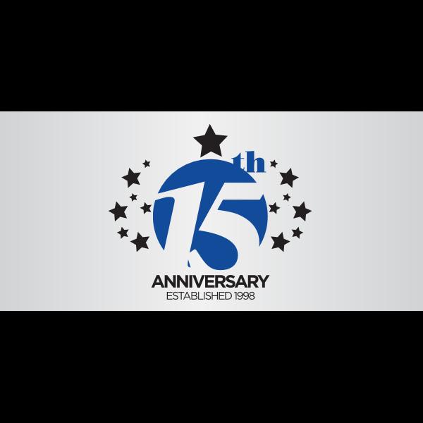 Capital Newspaper 15th Anniversary Logo ,Logo , icon , SVG Capital Newspaper 15th Anniversary Logo