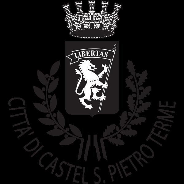 Castel San Pietro Terme Black White Logo ,Logo , icon , SVG Castel San Pietro Terme Black White Logo