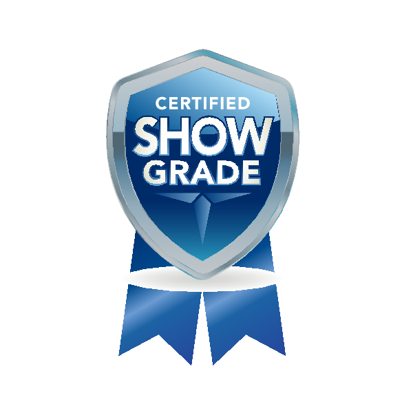 CERTIFIED SHOW GRADE Logo ,Logo , icon , SVG CERTIFIED SHOW GRADE Logo