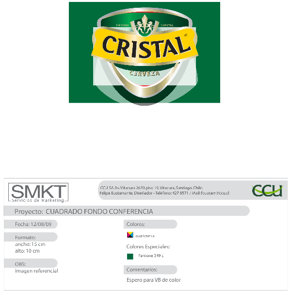 Cerveza Cristal Logo ,Logo , icon , SVG Cerveza Cristal Logo