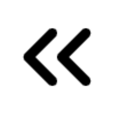 chevrons left ,Logo , icon , SVG chevrons left