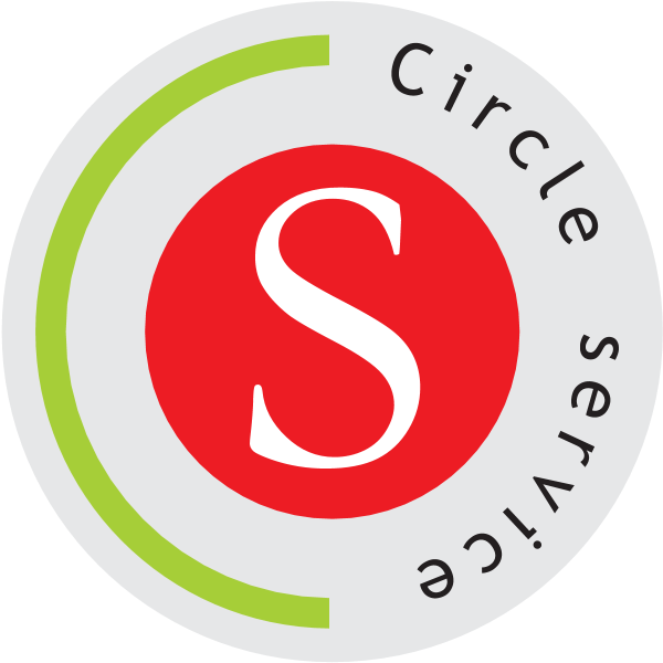 Circle Service Logo ,Logo , icon , SVG Circle Service Logo