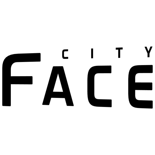 City Face ,Logo , icon , SVG City Face