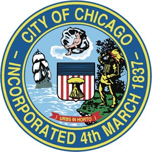 City of Chicago Incorporated 4th March 1837 Logo ,Logo , icon , SVG City of Chicago Incorporated 4th March 1837 Logo