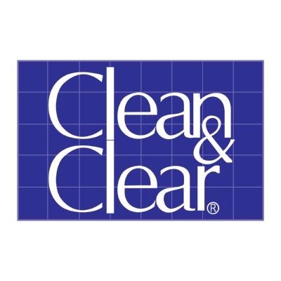 clean & clear ,Logo , icon , SVG clean & clear