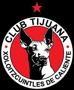 Club Tijuana Xoloitzcuintles de Caliente Logo ,Logo , icon , SVG Club Tijuana Xoloitzcuintles de Caliente Logo