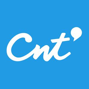 CNT nuevo fondo cian Logo ,Logo , icon , SVG CNT nuevo fondo cian Logo