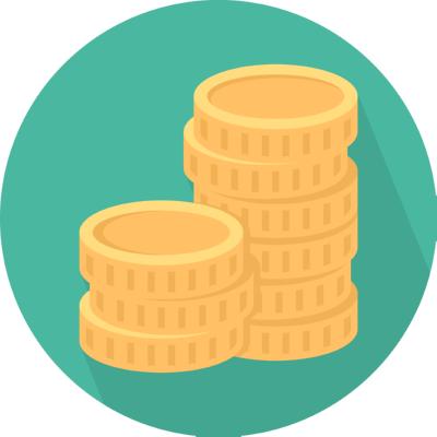 coins ,Logo , icon , SVG coins