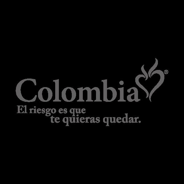 Colombia… El Riesgo es que te quieres quedar Logo ,Logo , icon , SVG Colombia… El Riesgo es que te quieres quedar Logo