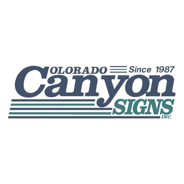 Colorado Canyon Signs, Inc. Logo ,Logo , icon , SVG Colorado Canyon Signs, Inc. Logo