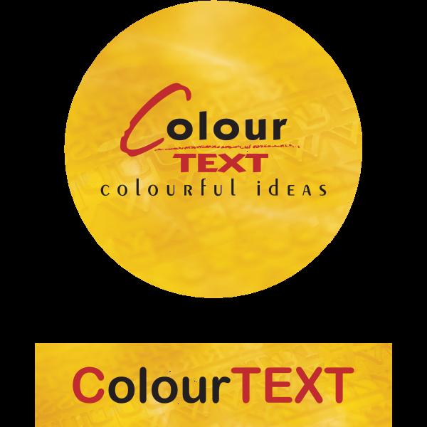 ColourTEXT Logo ,Logo , icon , SVG ColourTEXT Logo