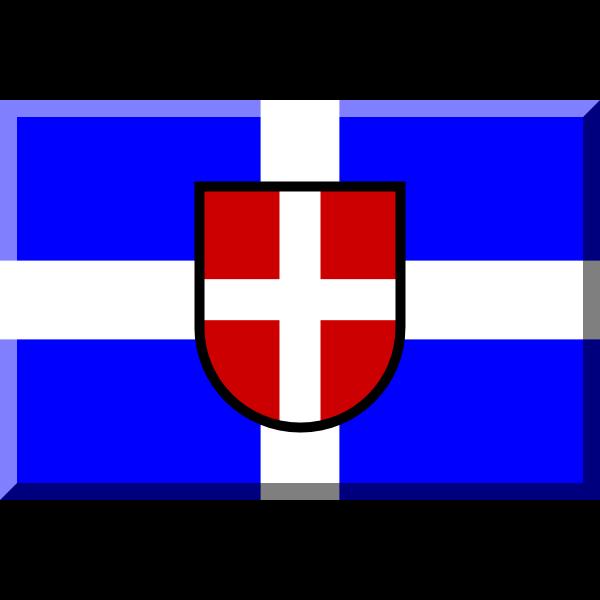 Como 1907 flag ,Logo , icon , SVG Como 1907 flag