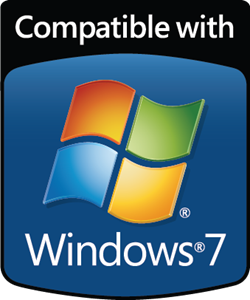 Compatible with Windows 7 Logo ,Logo , icon , SVG Compatible with Windows 7 Logo