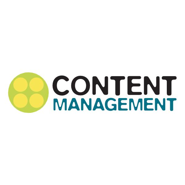 Content Management Logo ,Logo , icon , SVG Content Management Logo
