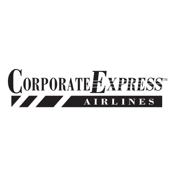 Corporate Express Airlines Logo ,Logo , icon , SVG Corporate Express Airlines Logo