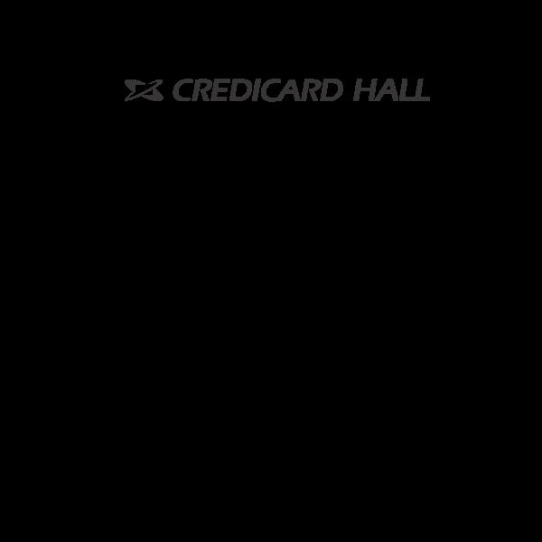 credicard hall Logo ,Logo , icon , SVG credicard hall Logo