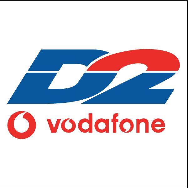 D2 Vodafone Logo ,Logo , icon , SVG D2 Vodafone Logo