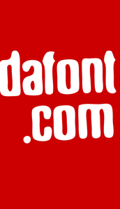 DaFont Logo ,Logo , icon , SVG DaFont Logo